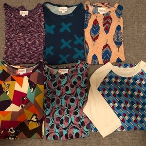 Lularoe Gracies and Sloan Size 8